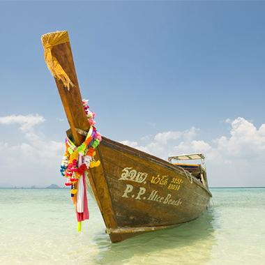 """宽阔美丽的海滩、洁白无瑕的沙粒、碧绿翡翠的海水,印度洋安达曼海上的一颗""""明珠""""。"""